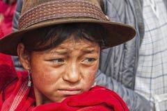 Portret Ekwadorska dziewczyna Fotografia Royalty Free