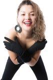Portret elegancka kobieta Zdjęcia Stock