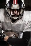 Portret futbolu amerykańskiego gracz Obraz Royalty Free