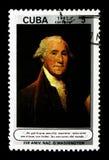 Portret George Washington, 250th narodziny rocznica, seria, c Obrazy Stock
