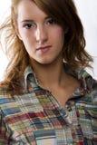 Portret girl Stock Photos