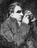 Portret Giuseppe Marc «Antonio Baretti włoski literacki krytyk ilustracja wektor