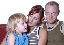 Portret II van de familie Stock Fotografie