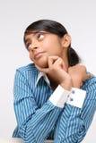 Portret Indiańska ładna dziewczyna Zdjęcie Royalty Free
