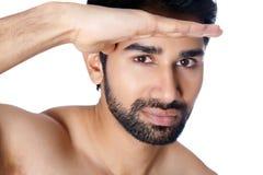 Portret Indiański mężczyzna Fotografia Royalty Free