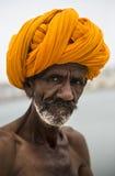 Portret Indiański mężczyzna zdjęcie stock