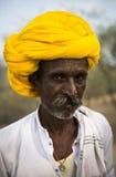 Portret Indiański mężczyzna obrazy royalty free