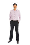 Portret indyjska biznesowa samiec Fotografia Stock