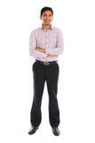 Portret indyjska biznesowa samiec Obrazy Royalty Free
