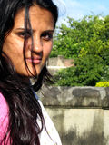 portret indyjska kobieta Obrazy Royalty Free