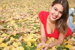 portret jesieni Obraz Royalty Free
