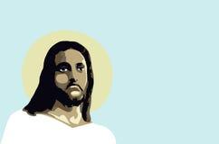 Portret jezus chrystus Zdjęcie Royalty Free
