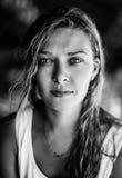 Portret jong meisje, Royalty-vrije Stock Afbeeldingen