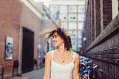 Portret jonge vrouw, Stock Foto