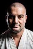 Portret karate wojownik obraz royalty free