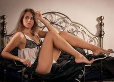 Portret Kat Ryshkina Obrazy Royalty Free