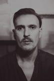 Portret Kaukascy w średnim wieku mężczyzna Obrazy Royalty Free