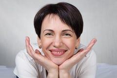 Portret kobieta Zdjęcia Royalty Free