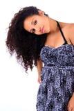 Portret Kobieta Piękny afrykanin Fotografia Royalty Free