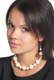 portret kobieta s Zdjęcie Royalty Free