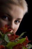 portret kobieta s Obraz Stock