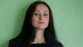 Portret kobieta w garniturze zbiory