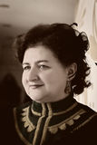 Portret kobieta w retro stylu Obraz Stock