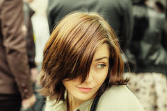 portret kobiety ładne young Zdjęcie Royalty Free