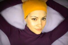 portret kobiety ładne young Fotografia Stock