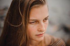 portret kobiety atrakcyjne młode Zdjęcie Stock