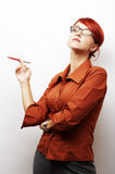 portret kobiety biznesu Obrazy Stock