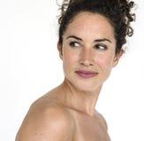 Portret kobiety kobiety Pracowniany model Obrazy Royalty Free