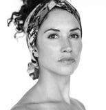 Portret kobiety kobiety Pracowniany model Obraz Stock