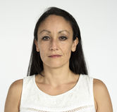 Portret kobiety kobiety Pracowniany model Fotografia Stock