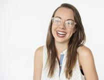 Portret kobiety kobiety Pracowniany model Zdjęcie Stock