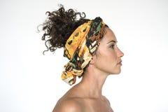 Portret kobiety kobiety Pracowniany model Zdjęcia Royalty Free