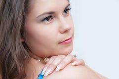 portret kobiety s Zdjęcie Royalty Free