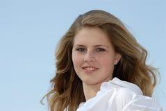 portret kobiety young Zdjęcie Royalty Free