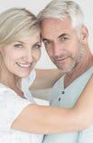 Portret kochający dorośleć pary zdjęcie stock