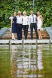 Portret kompetentna biznes drużyna Fotografia Royalty Free