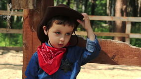 Portret kowboj 1 troszkę zdjęcie wideo