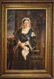 Portret królowa Wiktoria fotografia stock