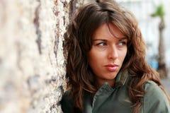 Portret 25 lat dziewczyna Zdjęcie Royalty Free