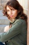 Portret 25 lat dziewczyna Obraz Royalty Free