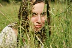 portret lato Zdjęcia Royalty Free