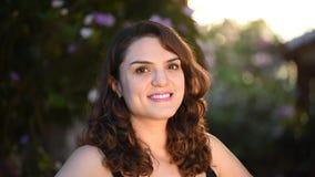 Portret latynoska dziewczyna zbiory wideo