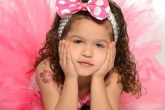 Portret Latynoski dziecko obraz royalty free