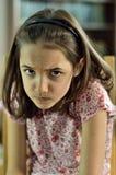 Mała Dziewczynka minimalny strach Obrazy Royalty Free