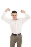 Portret latynoski energiczny młody biznes obraz stock