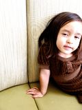 Portret śliczna dziewczyna Obraz Royalty Free